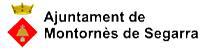 Escut Ajuntament de Montornès de Segarra.