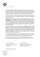 Comunicat de les Presidències del Consell Comarcal de la Segarra
