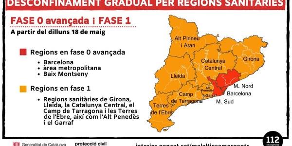 Informació municipal per la Fase 1 de desconfinament