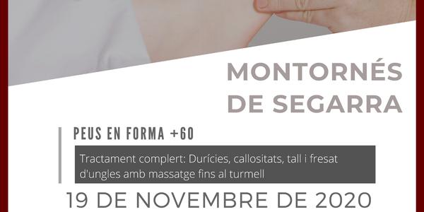 PEUS EN FORMA +60 EL DIA 19 DE NOVEMBRE